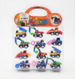 12 Pcs Motorcade Toy For Kids