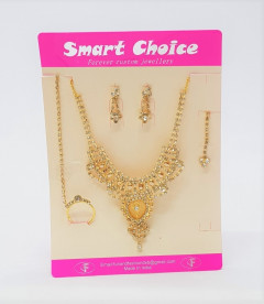 Jewelry sets for Women  gold color  wedding gifts necklace earrings Bracelet ring set Ethiopia jewellery