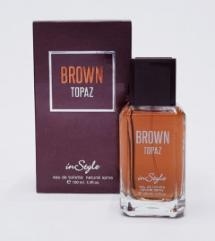 INSTYLE Brown Topaz For Men Eau De Toilette 100ml