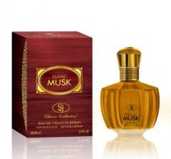 CLASSIC MUSK Eau de Toilette Spray, 100 ml 3.4 fl.oz.  Vaporisateur – Natural Spray