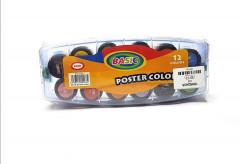 12 Pcs set Poster Color