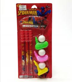 3PCS Kids Golf Toy Set Spiderman
