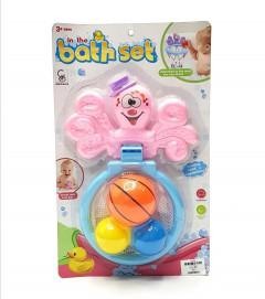 Baby bath toy set