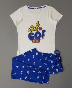 Ladies 2 Pce Pyjama Set