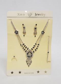 4 Pcs Set Of Jewelry For Ladies