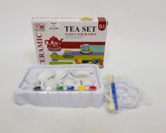 Ceramic Tea Set With Paint Your Own