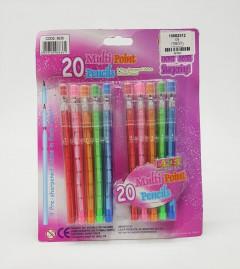 10 Pcs Multi Point Pencils