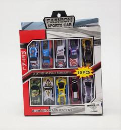 Fashion Sports Cars Model 10pcs/Set Pull Back Mini Toys Vehicles for Kids, Children. (Multicolor)
