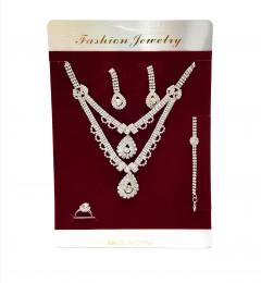 Shine Bright Jewelry Set: Earrings, Loop، Bracelet، Necklaces