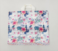20 Pcs Plastic Bag for Clothing Shop Packaging Pouch, Merchandise Bag with Handle