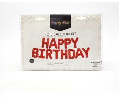 13 Pcs Foil Balloon Kit