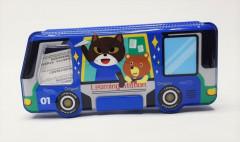 School Bus Shaped Pencil Box