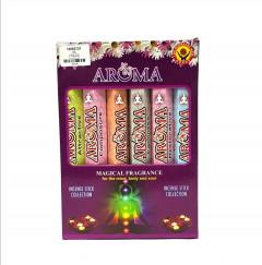 6 Pcs Pack Incense Stick Collection