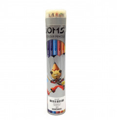 Doms Colour Pencil 12 Shades (Round Size Tin Packing)