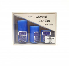 3 Pcs Scented Candles Pack