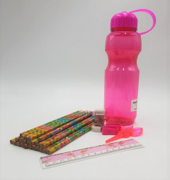 Sport Water Bottle And Stationery Set High Quality