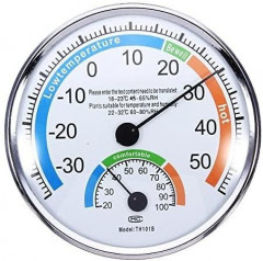 New Thermometer Hygrometer Weather Meter for Indoor Outdoor Offices Laboratory