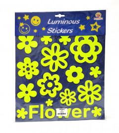 Flowers Luminous Stickers