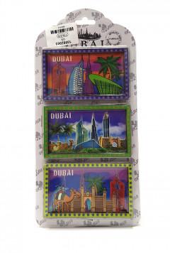 3 Pcs Dubai Magnet