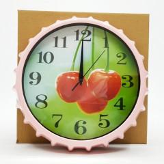 Circular Wall Clock.Cherry model