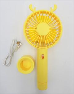 Handheld Mini Fan 3 Gear Portable Mini USB Hand Held Desktop Cooling Fan with Stand