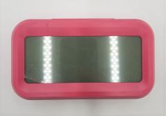 Optically Controlled Liquid Crystal Device Alarm Clock LCD Digital Sensor White