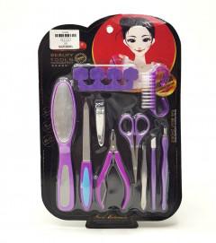 Set Of 10 Manicure Tools