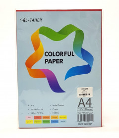 Colorful Paper A4