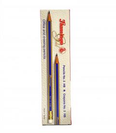 12 Pcs FLAMINGO Gold Pencil Box