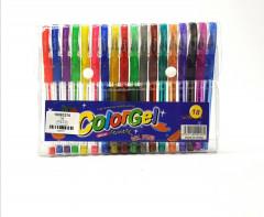 18 Pcs Colorgel Glitter Pens Set