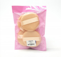4 Pcs Powder Puff & Sponges For Makeup With Strip, Foundation Applicator