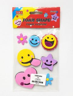 Stickers Foam Shape