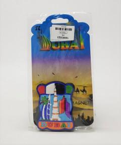 Lychee Life 1pc Dubai Fridge Magnet DIY 3D Fridge Magnets Tourist Souvenir Scenic Landscape Sticker For Home Decoration