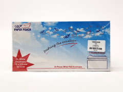 50 Pcs Dl White Envelopes 115 x 225mm