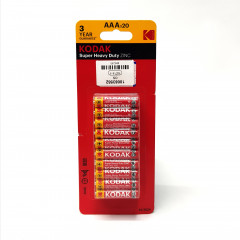 Kodak Super Heavy Duty AAA 20 Pack Zinc Batteries