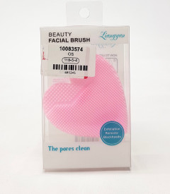 Heart Shaped Silicone Facial Cleansing Brush