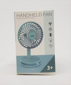 2021 new mini student desk desktop fan, home dormitory portable USB charging fan, strong wind and durable