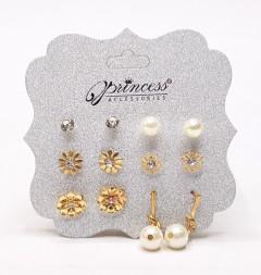 Multiple Stud Earrings Set