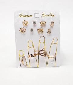 Earring And Ring Jewelry Set
