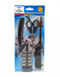 4 Pcs Pack Advanced Hair Dressing Scissors