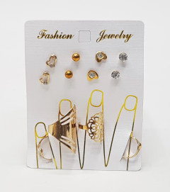 Ring and Earring Set