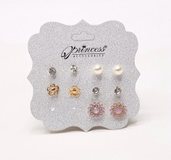 5 Pcs Set Stud Earrings Set