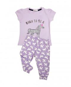Girls T-Shir And Pants Set