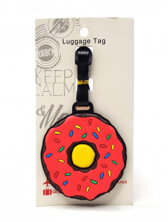 Donut Luggage Tags