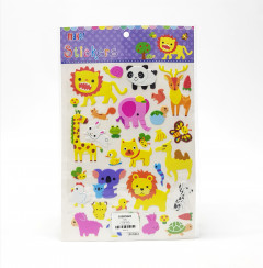 1 Pack of Animal Stickers