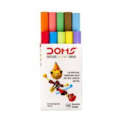 DOMS Colour Chalk (Pack of 10 )