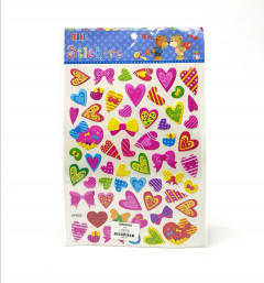 1 Pack of Heart Stickers