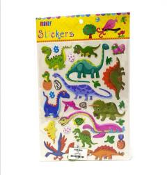 1 Pack of Dinosaur Stickers