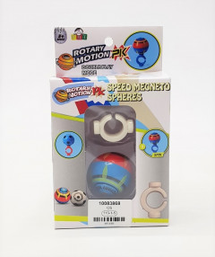 Speed Magneto Sphere - Magic Magnetic Balls Toy Controlled with Power Ring - Spinos Battle Game Toy - Flashing, Glowing, Magneto Spheres- Mini Magnetosphere, Magical Magnet Creative Toy
