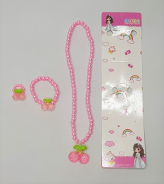 Hello Kitty Necklace And  Bracelet For Kids